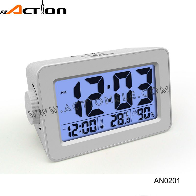New Style Easying Setting Time Clock with Turn Button