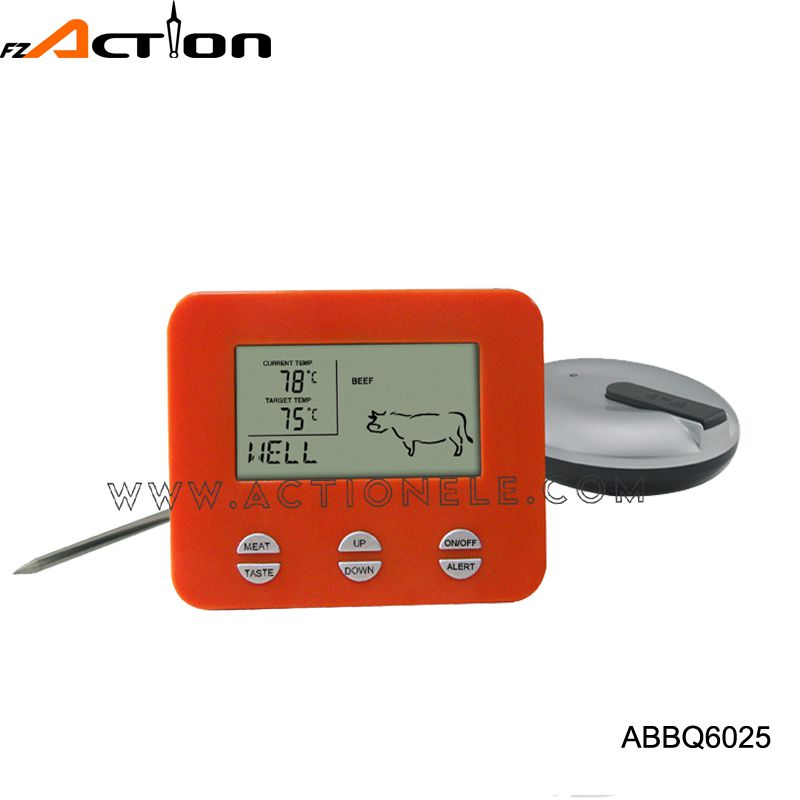 High quality cooking BBQ digital kitchen thermometer with voice signaling