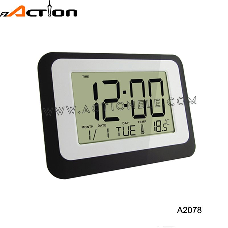 LCD Digital Alarm Table Clock with calendar