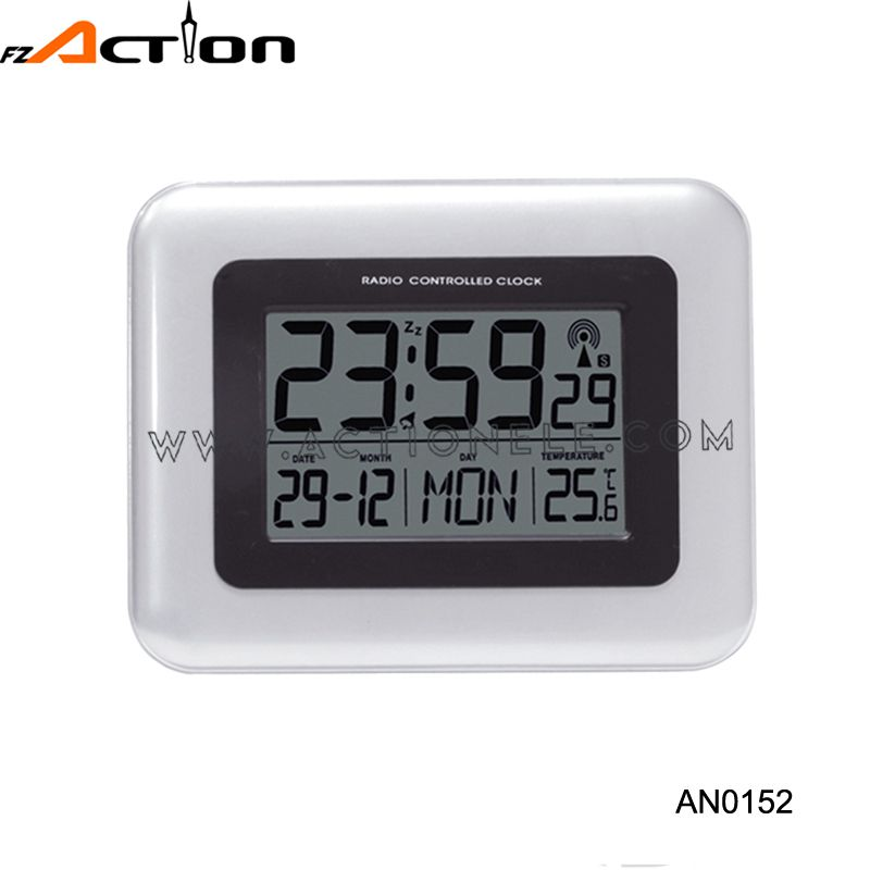 Moder design high quality digital wall alarm decorative clock