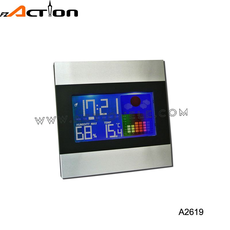 Color Display Weather Station Clock