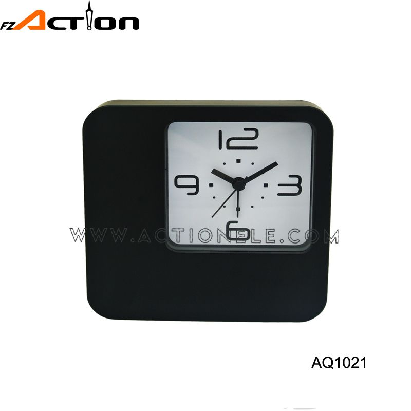 Small Order Accept Quick Analog Christmas Fridge Table Clock