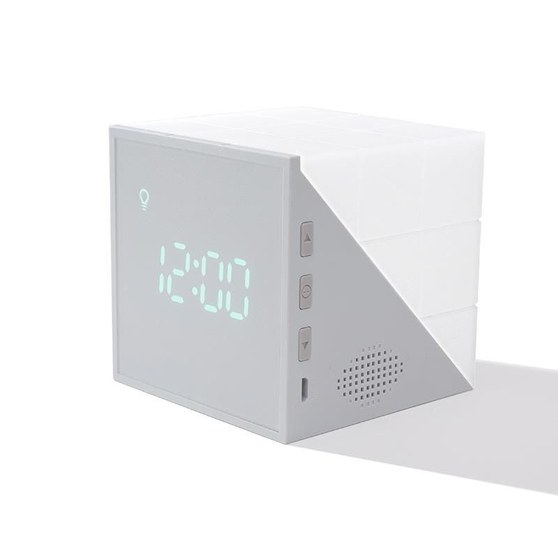 2020 New Wake Up Digital Led Night Lamp Alarm Clock Fading Night Light For Sleeping  FOB Reference P