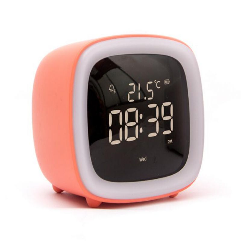 2020 New Design Korean Style Cute TV Clock WITH Night Lamp