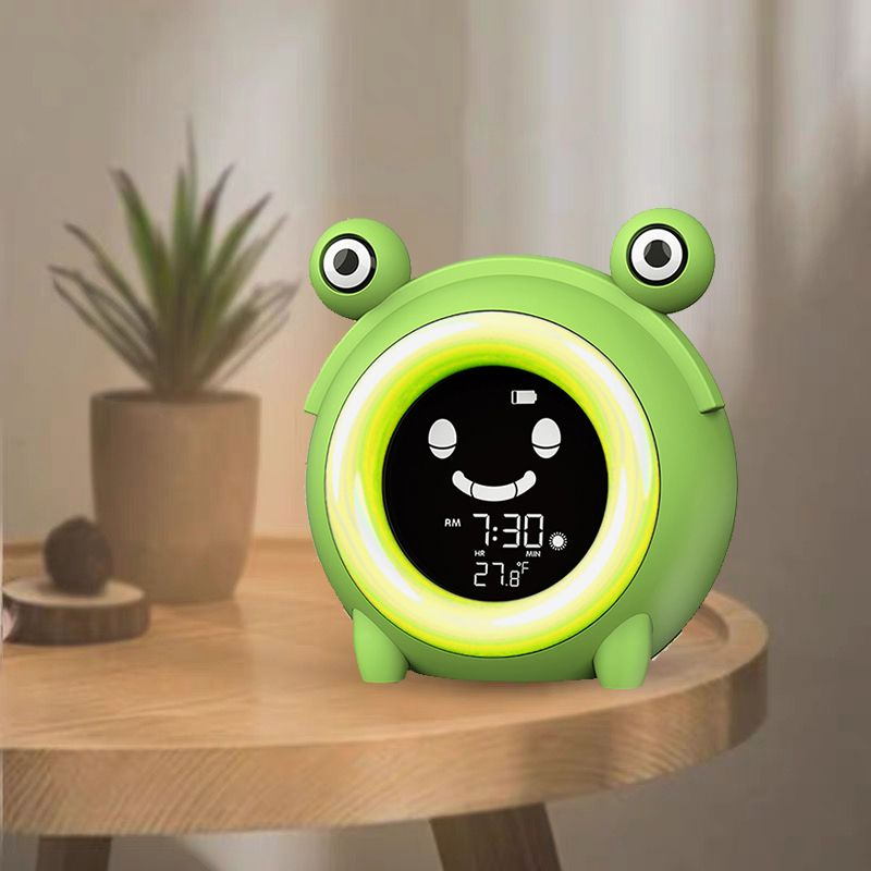 Hot seller Children sleep trainer Color Changing Music Alarm Clock Changing Alarm Clock With Backlig