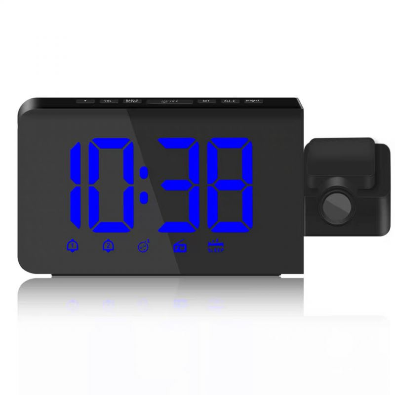 View larger image Modern LED Digital Projection Alarm Clock Radio Digital Projector Modern LED Digi